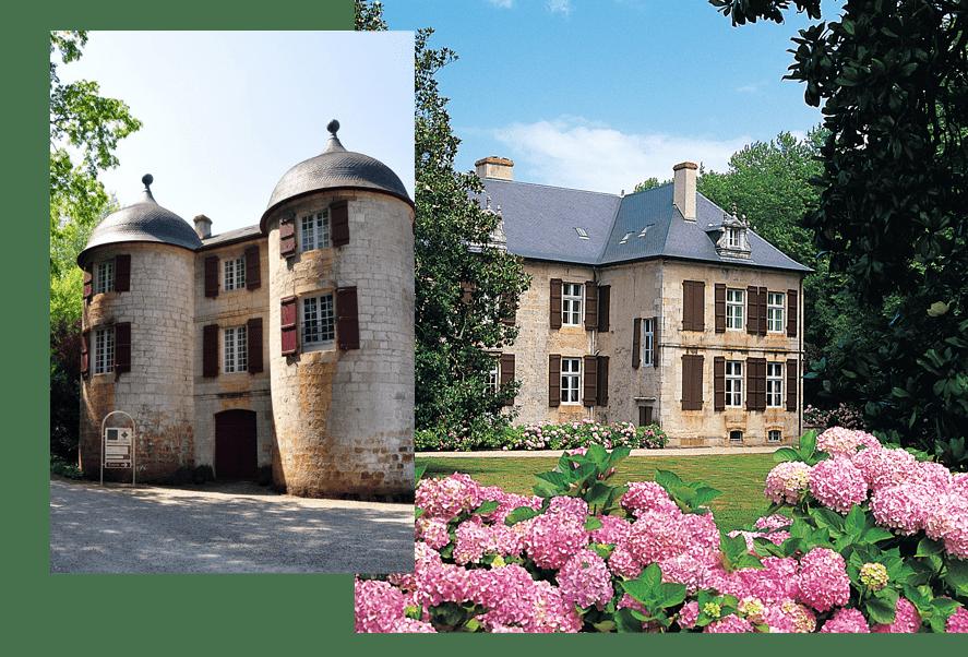 Exterieur Château hôtel Saint Jean-de-Luz